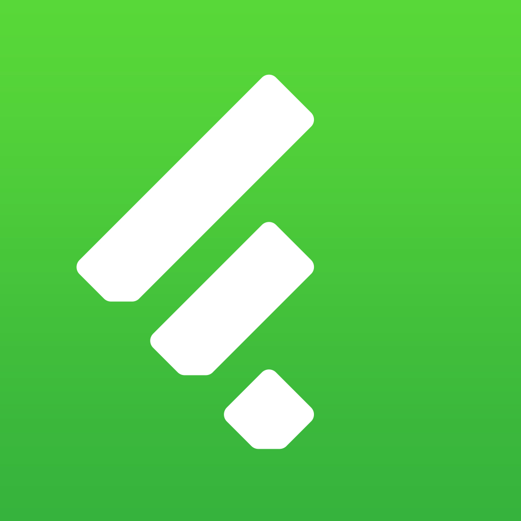 Feedly. Your RSS news reader.